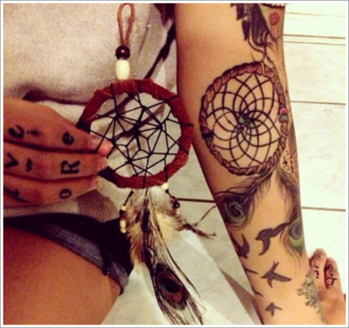 Dreamcatcher-Tattoo-Designs-35